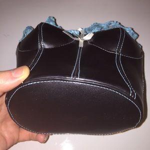219da892959 Giannini Bags - Giannini Faux Leather   Lace Bustier Corset Purse